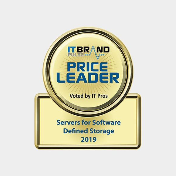 IT Brand Pulse 2019 Price Leader: Servers for Software Defined Storage - Dell EMC