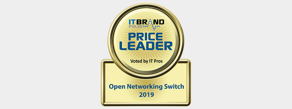 IT Brand Pulse 2019 Price Leader: Open Networking Switch - Dell EMC
