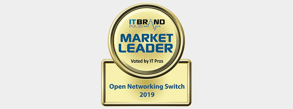 IT Brand Pulse 2019 Market Leader: Open Networking Switch - Dell EMC