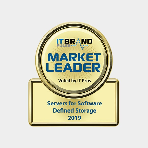 IT Brand Pulse 2019 Market Leader: Servers For Software Defined Storage - Dell EMC