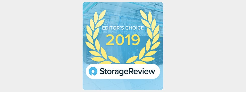 """The PowerVault ME4 is a clear leader in the entry storage market."" — StorageReview"