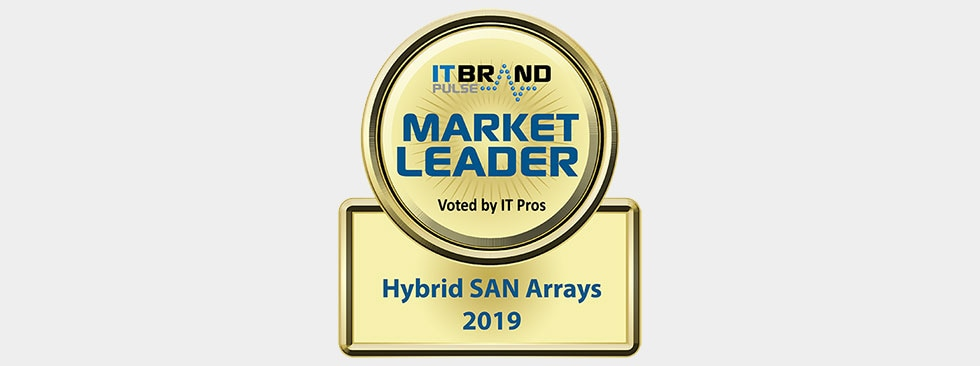 IT Brand Pulse 2019 Market Leader: Hybrid (HDD and SSD) SAN Arrays - Dell EMC